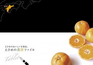 2014年「えひめの食財ファイル tablet(タブレット)」制作